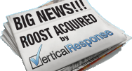 Roost Acquired by VerticalResponse